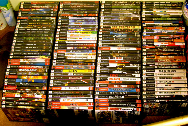 wyndell's playstation 2 ps2 games